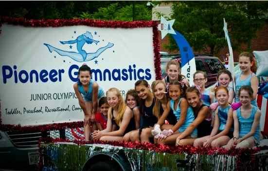 Pioneer-Gymnastics-parade