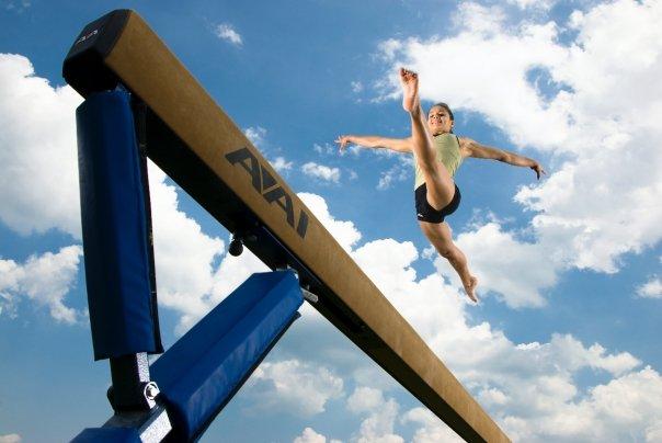 gymnast-beam