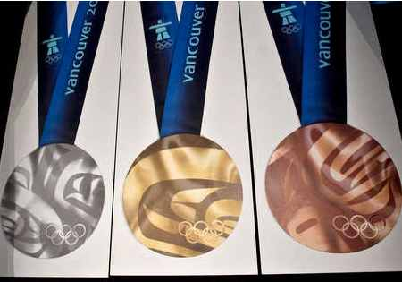2010 Olympic medals revealed – Gymnastics Coaching.com