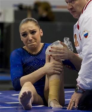 Did Mustafina Blow Her Knee Gymnastics Coaching Com