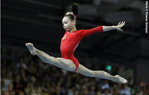 Chinese Championships End Gymnastics Coaching Com