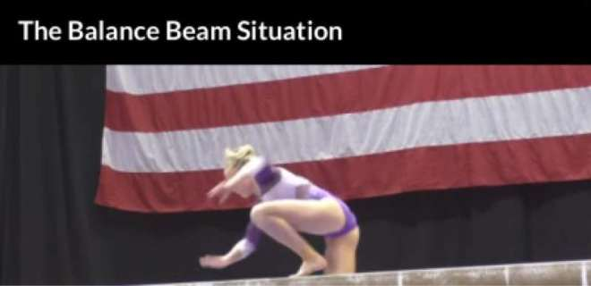 Balance Beam Situation