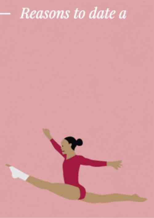 Dating gymnast