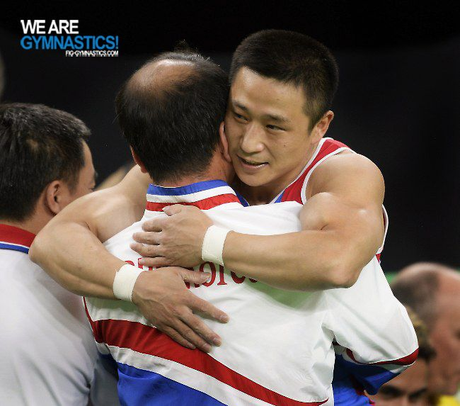 Olympic Games Rio 2016: RI Se Gwang/PRK and coach
