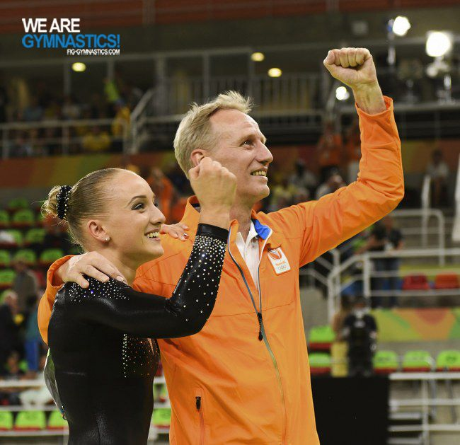 Olympic Games Rio 2016: WEVERS Sanne/NED and coach