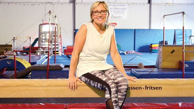 OSHAWA -- Elena Davydova, is a head coach at Genini Gymnastics, has just returned from the Olympic Games in Rio where she served as a judge for gymnastics. She has also been to the Olympics as an athlete (champion for USSR in 1980, and coach. August 19, 2016.