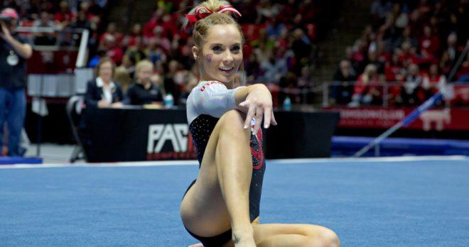 January 20, 2017; Salt Lake City, UT, USA; University of Utah Gymnastics vs Denver and Boise State and Illinois-Chicago