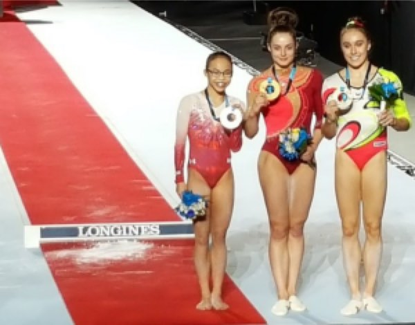 Beam medalists