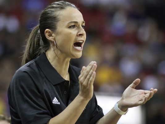Becky Hammon 1st Female Nba Coach Gymnastics Coaching Com