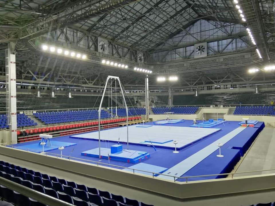 SEA Games Gymnastics venue is ready | Gymnastics Coaching.com